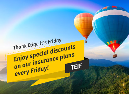 Thank Etiqa It's Friday